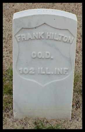 HILTON (VETERAN UNION), FRANK - Pulaski County, Arkansas | FRANK HILTON (VETERAN UNION) - Arkansas Gravestone Photos