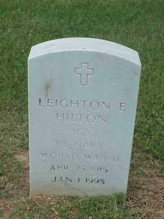 HILTON (VETERAN WWII), LEIGHTON E - Pulaski County, Arkansas | LEIGHTON E HILTON (VETERAN WWII) - Arkansas Gravestone Photos