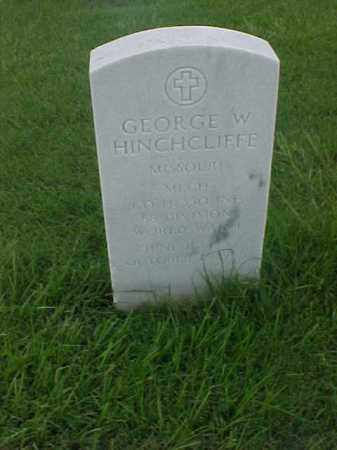 HINCHCLIFFE (VETERAN WWI), GEORGE W - Pulaski County, Arkansas | GEORGE W HINCHCLIFFE (VETERAN WWI) - Arkansas Gravestone Photos