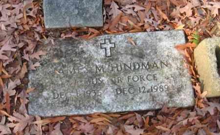 HINDMAN (VETERAN), JAMES M - Pulaski County, Arkansas | JAMES M HINDMAN (VETERAN) - Arkansas Gravestone Photos