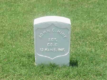 HINE (VETERAN UNION), JOHN C - Pulaski County, Arkansas | JOHN C HINE (VETERAN UNION) - Arkansas Gravestone Photos