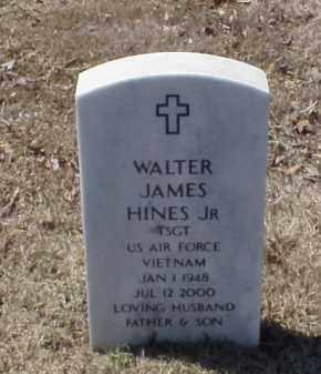 HINES, JR (VETERAN VIET), WALTER JAMES - Pulaski County, Arkansas | WALTER JAMES HINES, JR (VETERAN VIET) - Arkansas Gravestone Photos