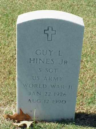 HINES, JR  (VETERAN WWII), GUY L - Pulaski County, Arkansas   GUY L HINES, JR  (VETERAN WWII) - Arkansas Gravestone Photos