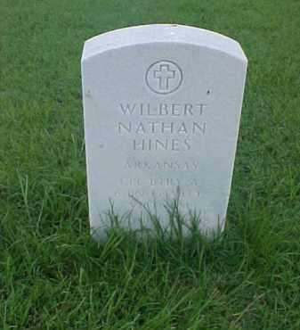 HINES (VETERAN VIET), WILBERT NATHAN - Pulaski County, Arkansas | WILBERT NATHAN HINES (VETERAN VIET) - Arkansas Gravestone Photos