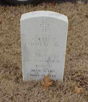 HINKLE, JR  (VETERAN 2 WARS), CARL C - Pulaski County, Arkansas | CARL C HINKLE, JR  (VETERAN 2 WARS) - Arkansas Gravestone Photos