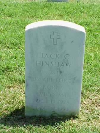 HINSHAW (VETERAN 2 WARS), JACK C - Pulaski County, Arkansas | JACK C HINSHAW (VETERAN 2 WARS) - Arkansas Gravestone Photos