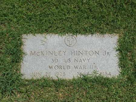 HINTON, JR (VETERAN WWII), MCKINLEY - Pulaski County, Arkansas | MCKINLEY HINTON, JR (VETERAN WWII) - Arkansas Gravestone Photos