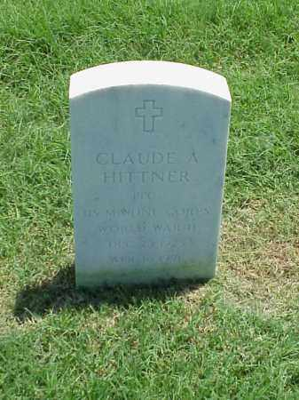 HITTNER (VETERAN WWII), CLAUDE A - Pulaski County, Arkansas | CLAUDE A HITTNER (VETERAN WWII) - Arkansas Gravestone Photos