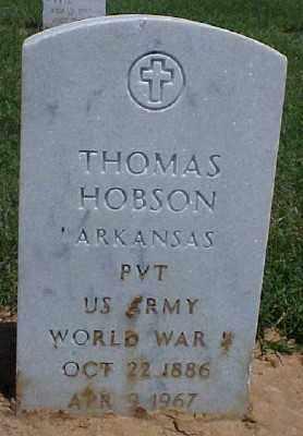 HOBSON (VETERAN WWI), THOMAS - Pulaski County, Arkansas | THOMAS HOBSON (VETERAN WWI) - Arkansas Gravestone Photos