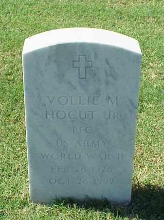HOCUT, JR  (VETERAN WWII), VOLLIE M - Pulaski County, Arkansas | VOLLIE M HOCUT, JR  (VETERAN WWII) - Arkansas Gravestone Photos