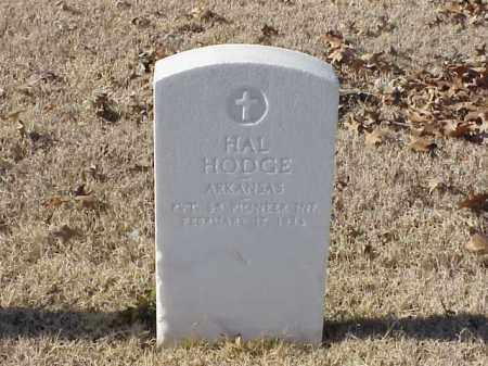 HODGE  (VETERAN WWI), HAL - Pulaski County, Arkansas | HAL HODGE  (VETERAN WWI) - Arkansas Gravestone Photos