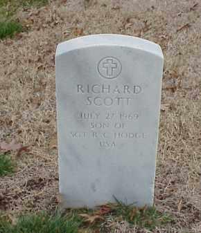 HODGE, RICHARD SCOTT - Pulaski County, Arkansas   RICHARD SCOTT HODGE - Arkansas Gravestone Photos