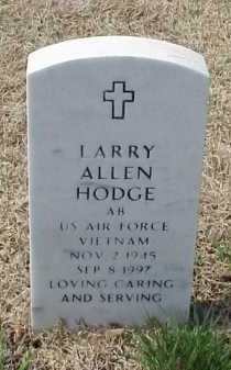 HODGE (VETERAN VIET), LARRY ALLEN - Pulaski County, Arkansas | LARRY ALLEN HODGE (VETERAN VIET) - Arkansas Gravestone Photos