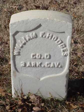HODGES  (VETERAN UNION), WILLIAM F - Pulaski County, Arkansas | WILLIAM F HODGES  (VETERAN UNION) - Arkansas Gravestone Photos