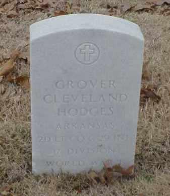 HODGES  (VETERAN WWI), GROVER CLEVELAND - Pulaski County, Arkansas | GROVER CLEVELAND HODGES  (VETERAN WWI) - Arkansas Gravestone Photos