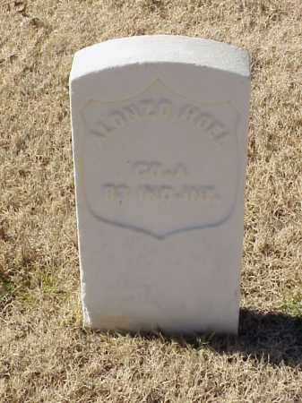 HOEL  (VETERAN UNION), ALONZO - Pulaski County, Arkansas | ALONZO HOEL  (VETERAN UNION) - Arkansas Gravestone Photos