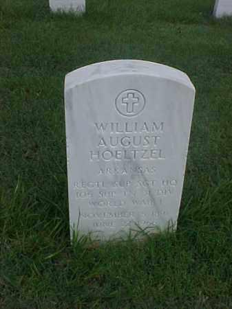HOELTZEL (VETERAN WWI), WILLIAM AUGUST - Pulaski County, Arkansas | WILLIAM AUGUST HOELTZEL (VETERAN WWI) - Arkansas Gravestone Photos
