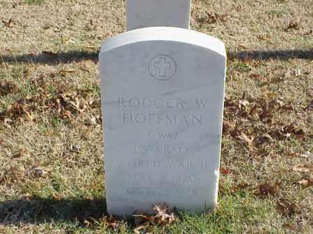 HOFFMAN  (VETERAN WWII), RODGER W - Pulaski County, Arkansas | RODGER W HOFFMAN  (VETERAN WWII) - Arkansas Gravestone Photos