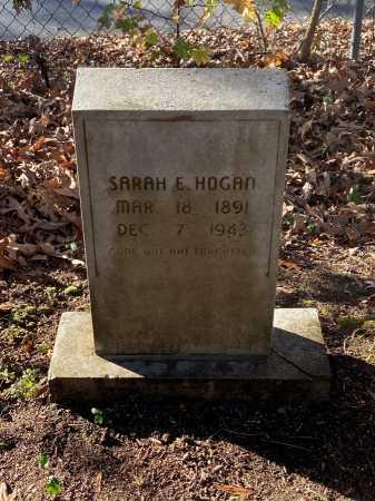 HOGAN, SARAH E. - Pulaski County, Arkansas   SARAH E. HOGAN - Arkansas Gravestone Photos