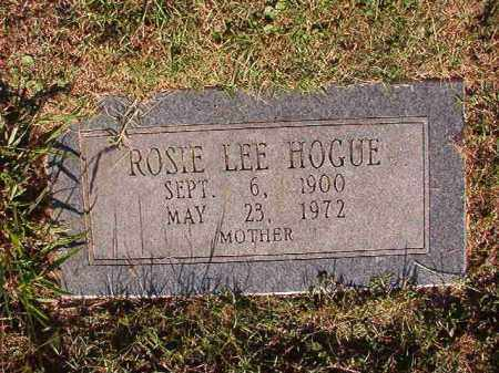 HOGUE, ROSIE LEE - Pulaski County, Arkansas | ROSIE LEE HOGUE - Arkansas Gravestone Photos