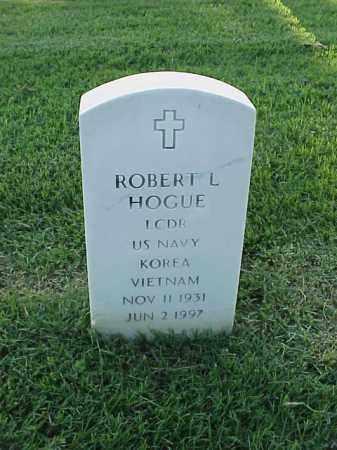 HOGUE (VETERAN 2 WARS), ROBERT L - Pulaski County, Arkansas   ROBERT L HOGUE (VETERAN 2 WARS) - Arkansas Gravestone Photos