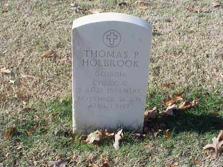 HOLBROOK  (VETERAN SAW), THOMAS P - Pulaski County, Arkansas | THOMAS P HOLBROOK  (VETERAN SAW) - Arkansas Gravestone Photos