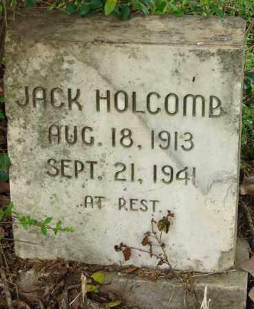 HOLCOMB, JACK - Pulaski County, Arkansas | JACK HOLCOMB - Arkansas Gravestone Photos