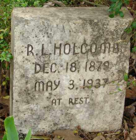 HOLCOMB, R. L. - Pulaski County, Arkansas | R. L. HOLCOMB - Arkansas Gravestone Photos