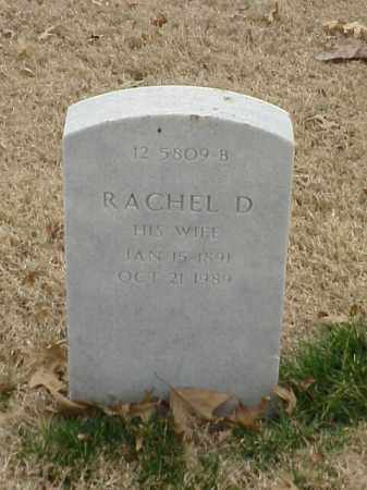 HOLDEN, RACHEL D - Pulaski County, Arkansas | RACHEL D HOLDEN - Arkansas Gravestone Photos