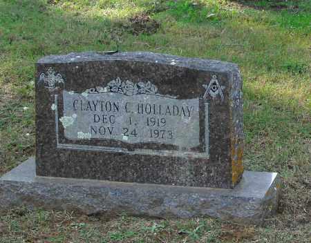 HOLLADAY, CLAYTON C - Pulaski County, Arkansas | CLAYTON C HOLLADAY - Arkansas Gravestone Photos