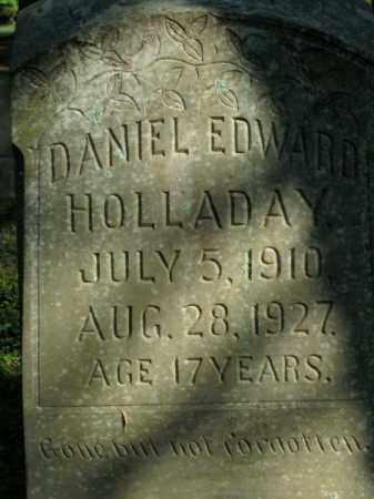 HOLLADAY, DANIEL EDWARD - Pulaski County, Arkansas | DANIEL EDWARD HOLLADAY - Arkansas Gravestone Photos