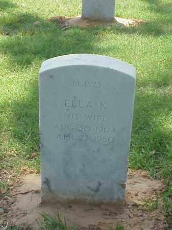 HOLLAND, ELLA K - Pulaski County, Arkansas | ELLA K HOLLAND - Arkansas Gravestone Photos