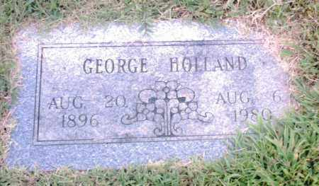 HOLLAND, GEORGE - Pulaski County, Arkansas | GEORGE HOLLAND - Arkansas Gravestone Photos