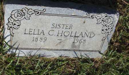 HOLLAND, LELIA C - Pulaski County, Arkansas | LELIA C HOLLAND - Arkansas Gravestone Photos