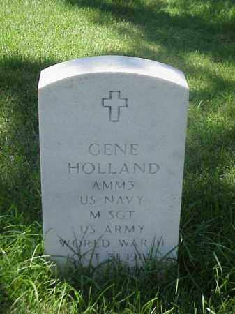 HOLLAND (VETERAN WWII), GENE - Pulaski County, Arkansas | GENE HOLLAND (VETERAN WWII) - Arkansas Gravestone Photos