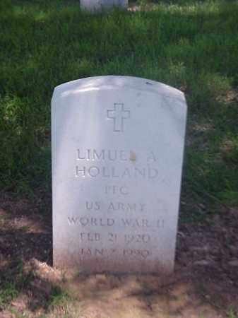 HOLLAND (VETERAN WWII), LIMUEL A - Pulaski County, Arkansas   LIMUEL A HOLLAND (VETERAN WWII) - Arkansas Gravestone Photos