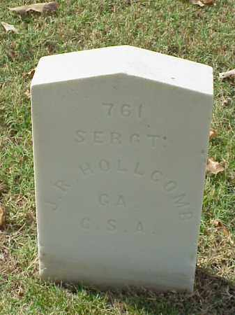 HOLLCOMB  (VETERAN CSA), J R - Pulaski County, Arkansas | J R HOLLCOMB  (VETERAN CSA) - Arkansas Gravestone Photos