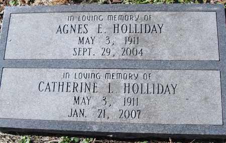 HOLLIDAY, CATHERINE L - Pulaski County, Arkansas | CATHERINE L HOLLIDAY - Arkansas Gravestone Photos