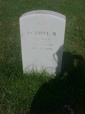 HOLLIDAY, BOBBYE R - Pulaski County, Arkansas | BOBBYE R HOLLIDAY - Arkansas Gravestone Photos