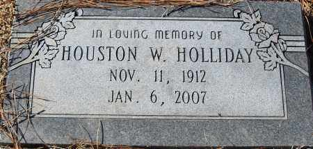 D HOLLIDAY, HOUSTON W - Pulaski County, Arkansas | HOUSTON W D HOLLIDAY - Arkansas Gravestone Photos
