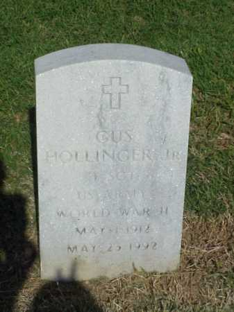 HOLLINGER, JR (VETERAN WWII), GUS - Pulaski County, Arkansas | GUS HOLLINGER, JR (VETERAN WWII) - Arkansas Gravestone Photos