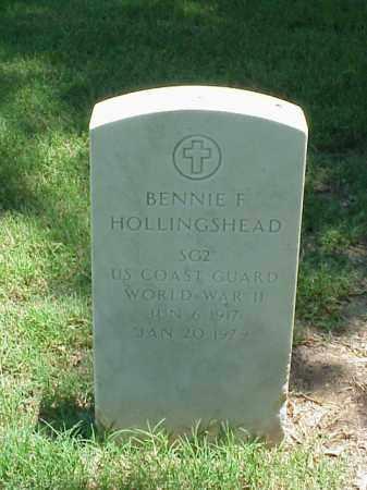 HOLLINGSHEAD (VETERAN WWII), BENNIE F - Pulaski County, Arkansas | BENNIE F HOLLINGSHEAD (VETERAN WWII) - Arkansas Gravestone Photos