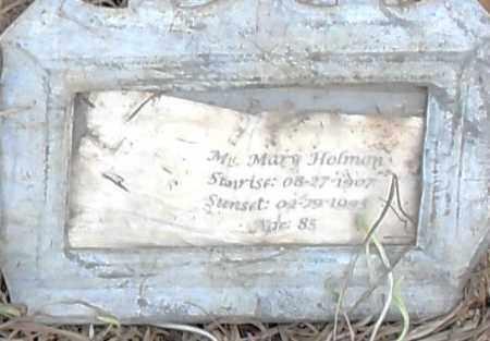 HOLLMAN, MARY - Pulaski County, Arkansas   MARY HOLLMAN - Arkansas Gravestone Photos