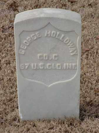 HOLLOWAY  (VETERAN UNION), GEORGE - Pulaski County, Arkansas | GEORGE HOLLOWAY  (VETERAN UNION) - Arkansas Gravestone Photos