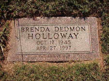 DEDMON HOLLOWAY, BRENDA - Pulaski County, Arkansas | BRENDA DEDMON HOLLOWAY - Arkansas Gravestone Photos