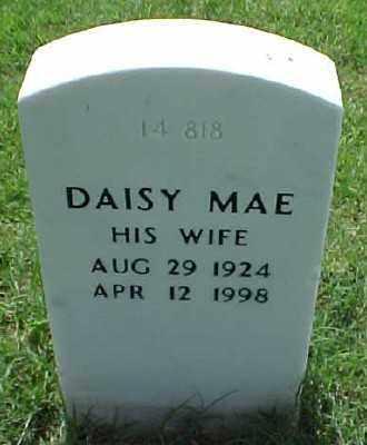 HOLLOWAY, DAISY MAE - Pulaski County, Arkansas | DAISY MAE HOLLOWAY - Arkansas Gravestone Photos