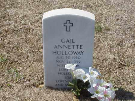 HOLLOWAY, GAIL ANNETTE - Pulaski County, Arkansas | GAIL ANNETTE HOLLOWAY - Arkansas Gravestone Photos