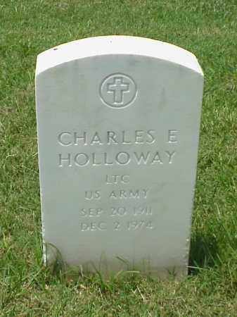HOLLOWAY (VETERAN KOR), CHARLES E - Pulaski County, Arkansas | CHARLES E HOLLOWAY (VETERAN KOR) - Arkansas Gravestone Photos