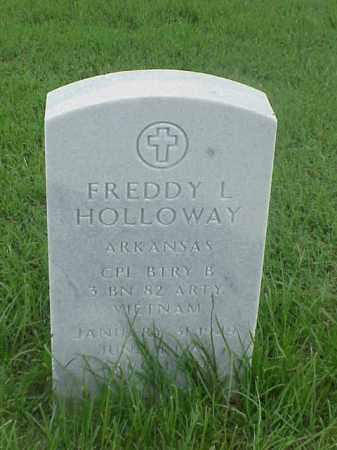 HOLLOWAY (VETERAN VIET), FREDDY L - Pulaski County, Arkansas | FREDDY L HOLLOWAY (VETERAN VIET) - Arkansas Gravestone Photos