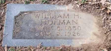 HOLMAN, WILLIAM H. - Pulaski County, Arkansas   WILLIAM H. HOLMAN - Arkansas Gravestone Photos
